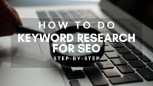 How to do keyword research for SEO using semrush